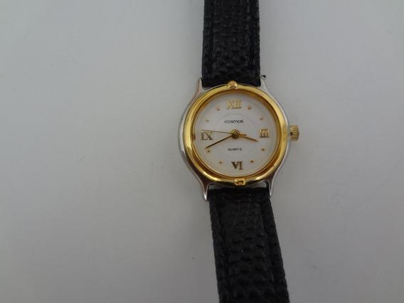 Relógio Feminino Cosmos Quartz - Modelo Pzfm 629 Funciona