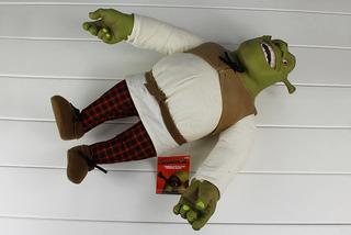 Peluche Shrek De Felpa Y Pvc En Manos Y Cabeza. Mide 37 Cm