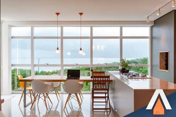 Acrc Imóveis - Apartamento Frente Ao Mar Na Baía Dos Golfinhos, Na Grande Florianópolis - Ap01713 - 32855175