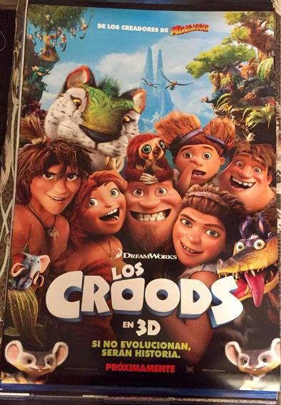 Póster - Los Croods (película De Dibujos Animados 2013)