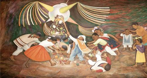 Rompecabezas De 1000 Piezas: La Piñata Por Diego Rivera