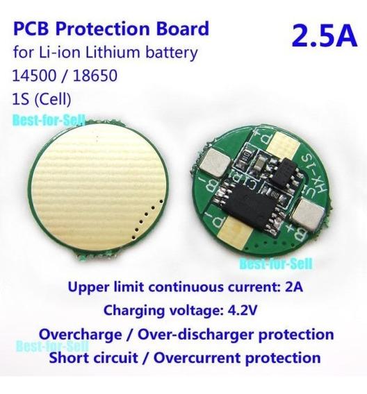 1s 2.5a Bms Proteccion Carga/descarga Bateria 18650 Itytarg
