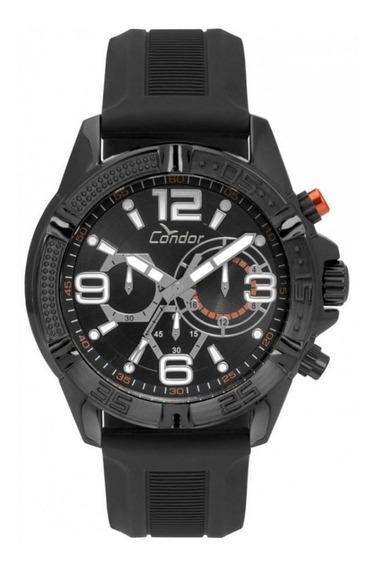 Relógio Condor Masculino Covd54avul/8p Borracha Promoção
