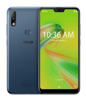 Zenfone Max (m2) Azul Asus Tela 6,2 4g 32 Gb 12+5mp Zb634kl