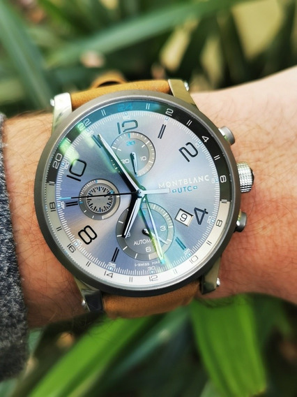 Relógio Montblac Time Walker Utc - Completo E Impecável
