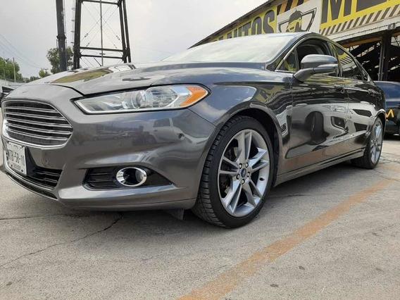 Ford Fusion Titanium Plus Aut Ac Navi 2015
