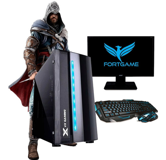 Pc Gamer Completo Barato 3.9ghz/ Geforce 2gb / Fortnite
