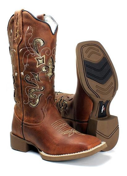 Botas Country Texana Barato Bordado A Laser Feminina Confort