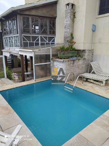Cobertura Duplex Com 4 Suites À Venda Por R$ 700.000 - Enseada- Guarujá/sp - Co0021