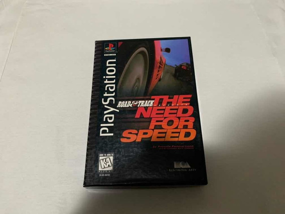 The Need For Speed Long Box Ps1 Original Completo Americano