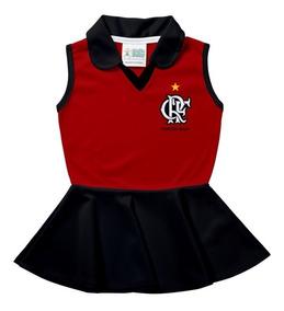 Vestido Polo Infantil - Flamengo