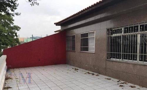 Imagem 1 de 14 de Casa Com 3 Dormitórios À Venda, 303 M² Por R$ 565.000,00 - Parque Novo Oratório - Santo André/sp - Ca0918