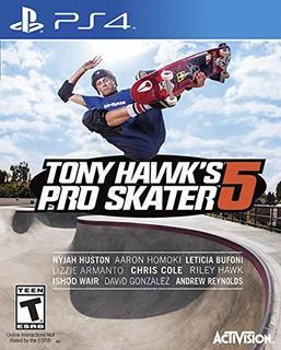 Ps4 Tony Hawk S Pro Skater 5 Standard Edit