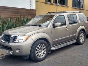 Nissan Pathfinder 2009 Color Beige Blindada Nivel Iii