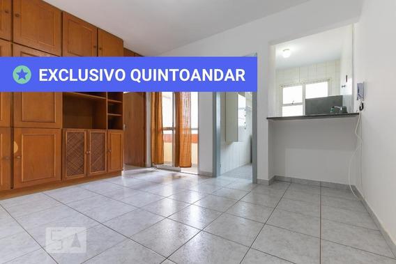 Apartamento No 12º Andar Com 1 Dormitório E 1 Garagem - Id: 892997088 - 297088