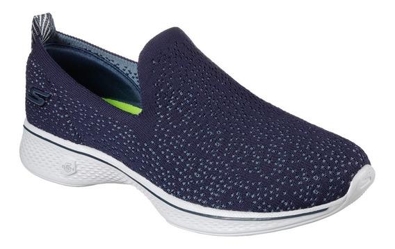 Zapatillas Skechers Go Walk 4 Gifted Mujer Caminata Import