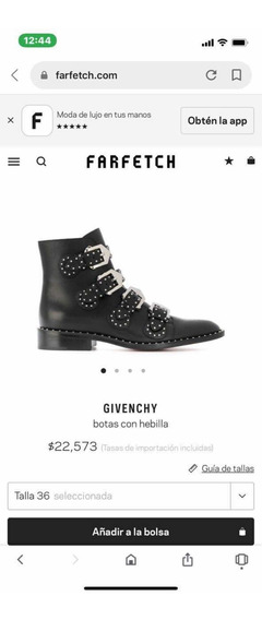 Givenchy Botas Originales
