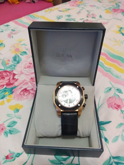 Relógio Marine Star Wb31050p / 98b138 - Bulova Luxo