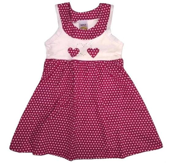Kit Lote 3 Vestido Infantil Feminino Roupa Menina Atacado