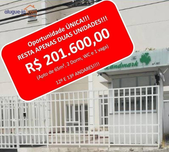 Apartamento Com 2 Dormitórios À Venda, 65 M² Por R$ 201.600 - Jardim América - São José Dos Campos/sp - Ap8023