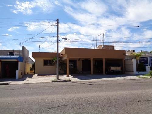 Renta Casa Comercial, Ideal Para Consultorio U Oficinas En Hermosillo