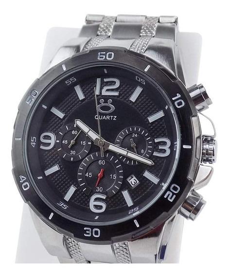 Relógio Masculino Spaceman Orizom Analógico + Caixa Rospd18