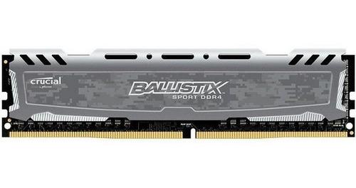 Memoria Ram Crucial Ballistix Sport Ddr4 2400mhz. 2x4gb  Xmp