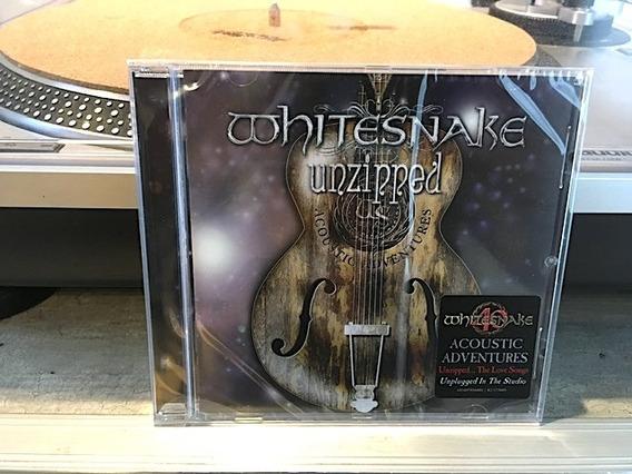 Whitesnake - Unziped - Cd Importado