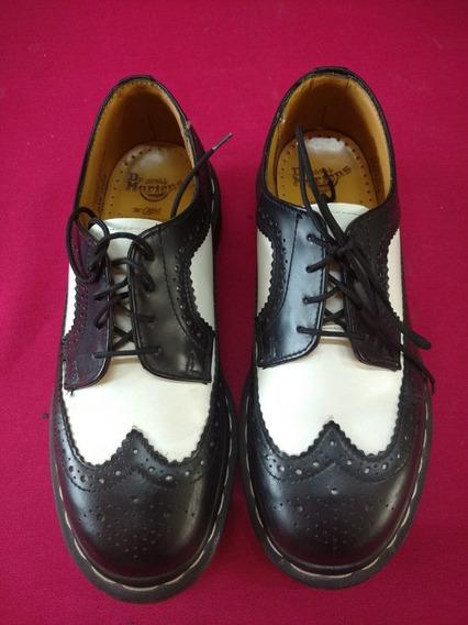 Zapato Dr Martens Bostoniano 3989 Wingtip Brogue Ska