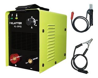 Soldadora Inverter Klatter 140 Amp + Pinzas