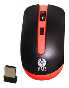 Mouse Sem Fio Usb 2.4g 3200 Dpi Longo Alcance Haiz 4000 Nf
