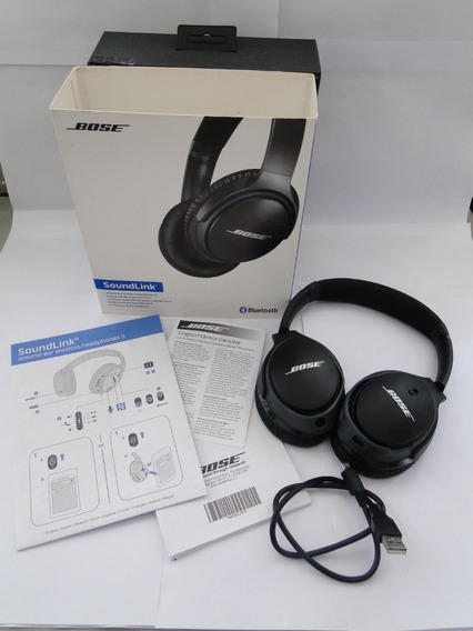 Headphone Bose Soundlink Around Ear Fone Sem Fio Bluetooth