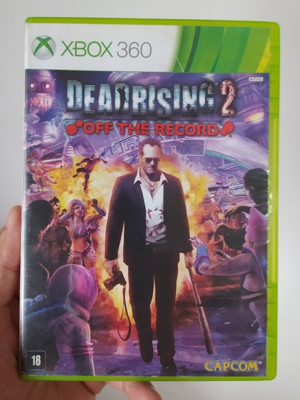 Deadrising 2 Off The Record Original Mídia Física Xbox 360
