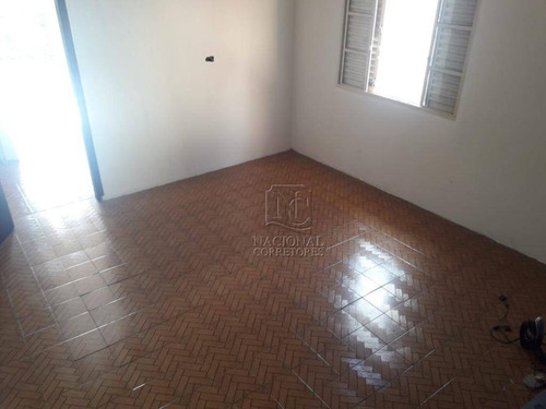 Sobrado Com 2 Dormitórios À Venda, 157 M² Por R$ 350.000 - Parque João Ramalho - Santo André/sp - So3241