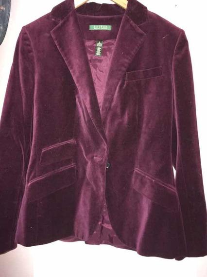 Blazer Saco De Mujer De Pana Ralph Lauren Importado