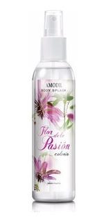 Amodil Body Splash Colonia Con Atomizador Flor De La Pasión