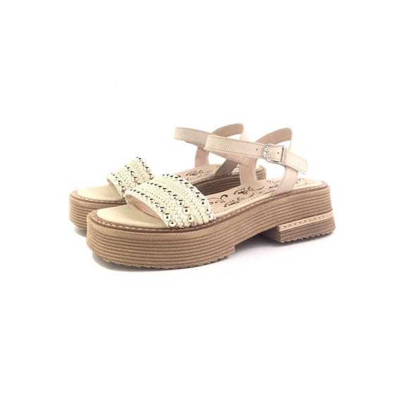Sandalia Plataforma Demalor 130 El Mercado De Zapatos!