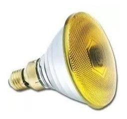 Lampara Par 38 Bajo Consumo Color Amarillo 25w Interelec Stg