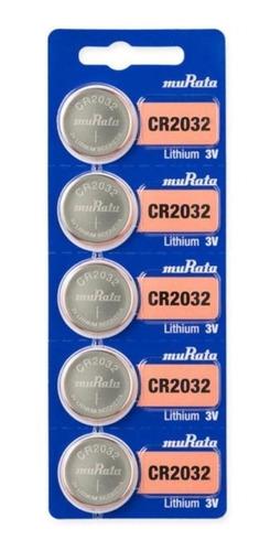 Pilas Murata Sony Cr 2032 5u Original Balanzas Distribuidor