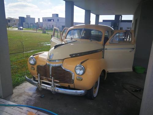 Vendo Auto Antiguo Chevrolet Deluxe 1941