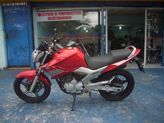 Yamaha Ys Fazer 250 Vermelha 2014 R$ 9.999 Troca Financia