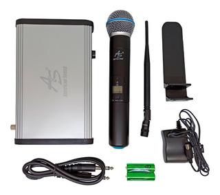 Microfono Inalambrico Uhf Tmw 351 100 Canales American Sound