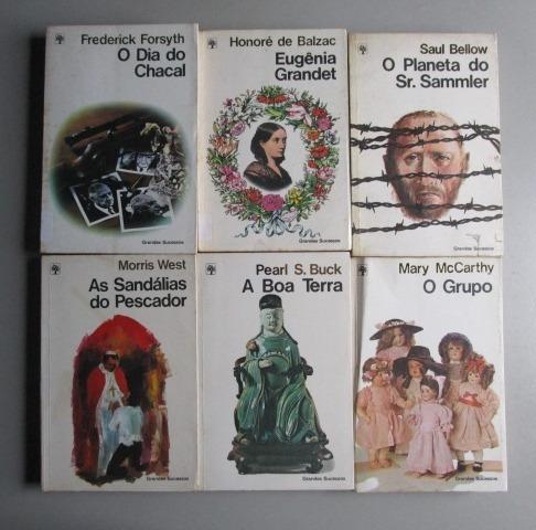 6 Livros - Literatura Estrangeira -grandes Sucessos -lote 4