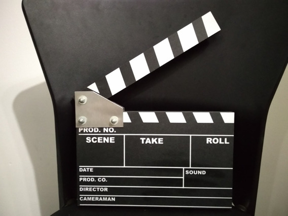 Claquete De Cinema Nunca Usada Estado De Novo