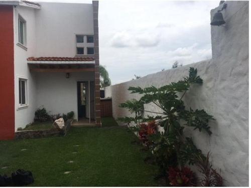 Casa Sola En Venta Praderas De Oaxtepec