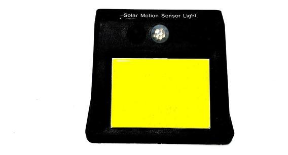 Luminaria Solar 48 Leds Parede Lampada Sensor Movimento