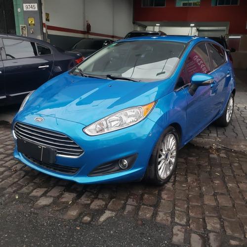 Ford Fiesta 1.6l Titanium 5 Ptas Excelente Estado! Financio!