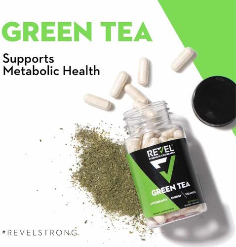 Té Verde En Cápsulas 500mg 60 Caps / Green Tea Extract