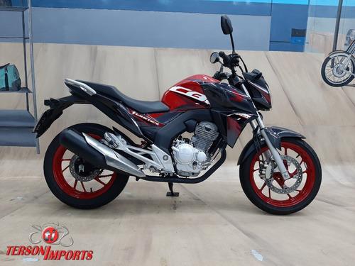 Honda Cb Twister 250f Cbs 2020 Vermelha