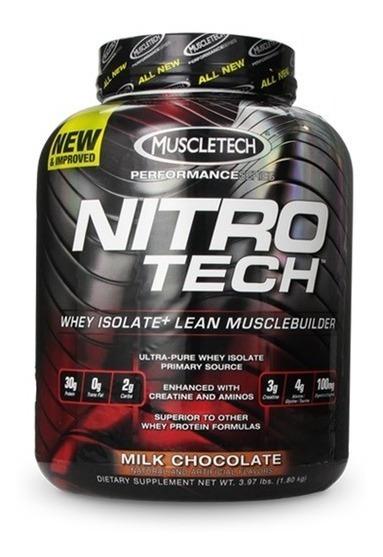 Proteina Muscletech Nitrotech 4 Lbs Todos Los Sabores Oferta